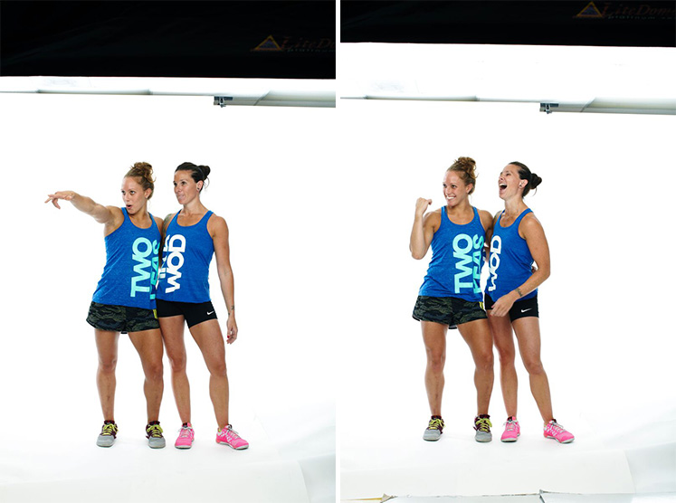 Two peas in a WOD // Kelsey, Especially